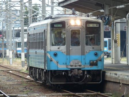JR松山駅 キハ54形気動車 1