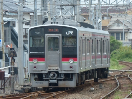 JR伊予西条駅 7200系電車 1