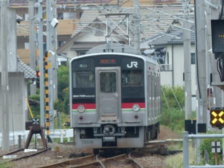 JR伊予西条駅 7200系電車 2
