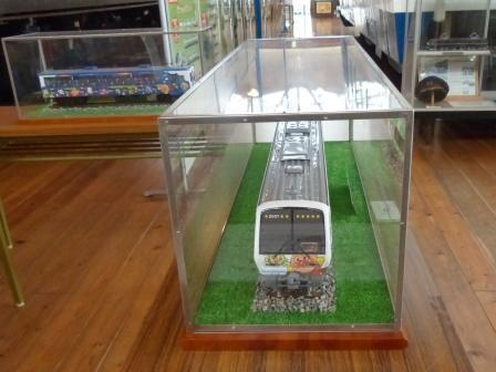四国鉄道文化館 アンパンマン列車の模型 2