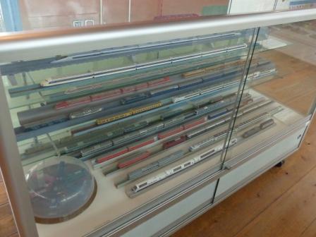 四国鉄道文化館 いろいろな鉄道の模型 2