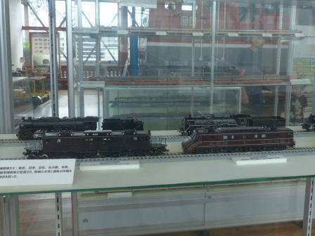四国鉄道文化館 いろいろな鉄道の模型 1