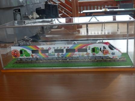 四国鉄道文化館 アンパンマン列車の模型 1