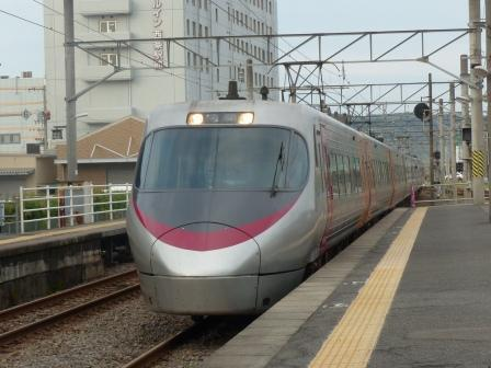 JR伊予西条駅 8000系特急電車