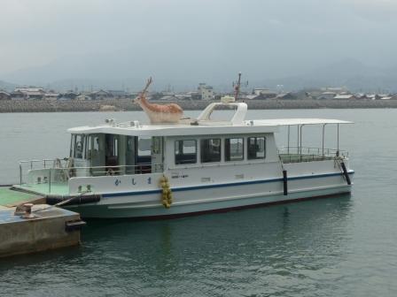 鹿島への渡船