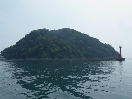 周遊船から見た鹿島 1