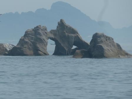 周遊船から見た鹿島 2