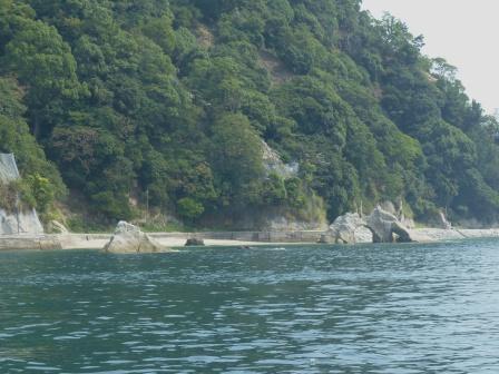 周遊船から見た鹿島 4