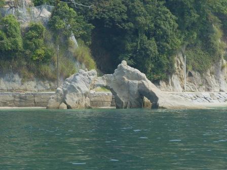 周遊船から見た鹿島 3