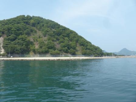 周遊船から見た 鹿島 7
