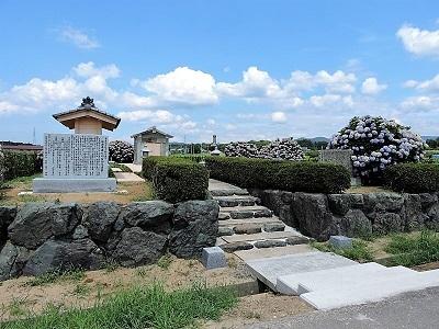 あわら市多賀谷左近墓の踏査 (5)