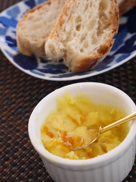 Yuzu-butter&bread