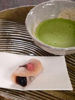 Sakura-mochi-matcha