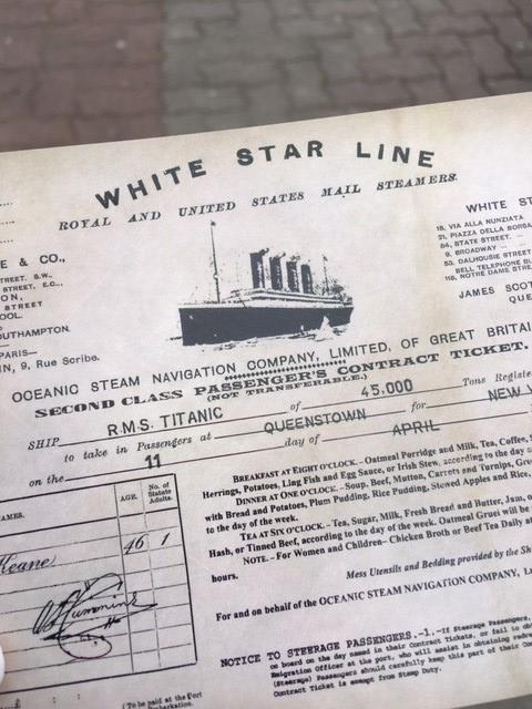 titanic cobh