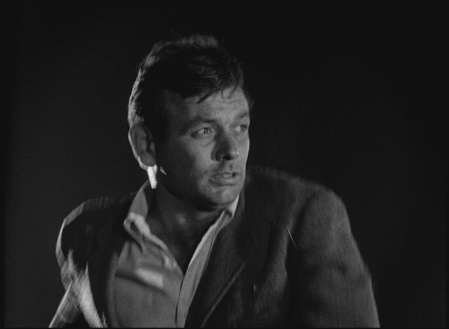 David Janssen as The Fugitive