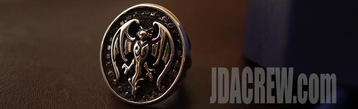 hollywood V johnnydepp ring silver925 sasa