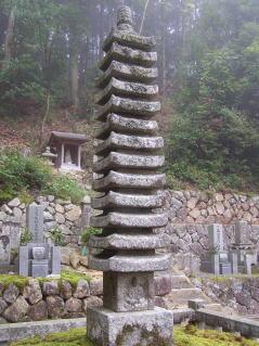 延福寺十三重塔