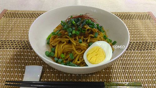 汁なし坦々麺3