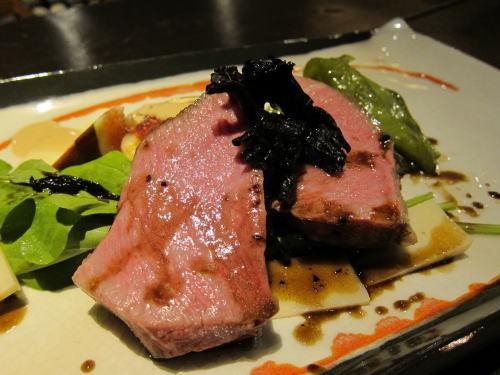仙台牛イチボの長時間ロースト