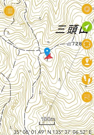 2017三頭山/GPS
