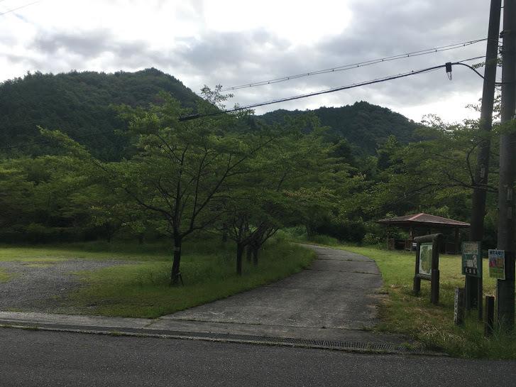 2017丹波高山/林道入り口