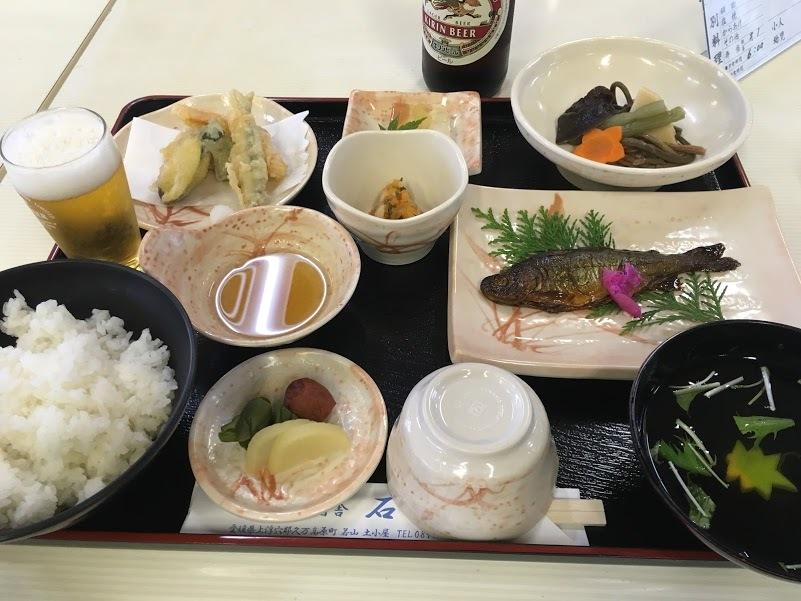 伊予富士/夕飯