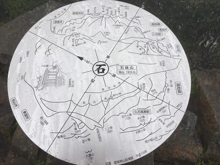2017天狗岳/方位盤