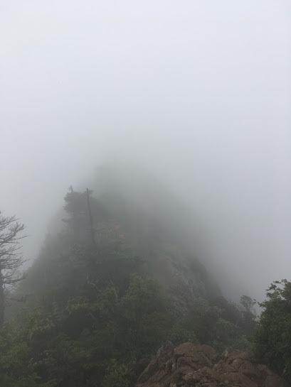 2017天狗岳/霧の中の天狗
