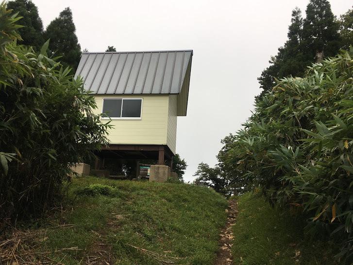 2017氷ノ山/氷ノ山越避難小屋