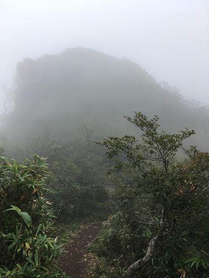 2017氷ノ山/雲の中