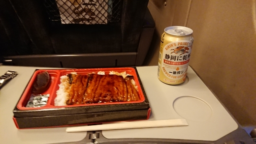 静岡帰り 新幹線