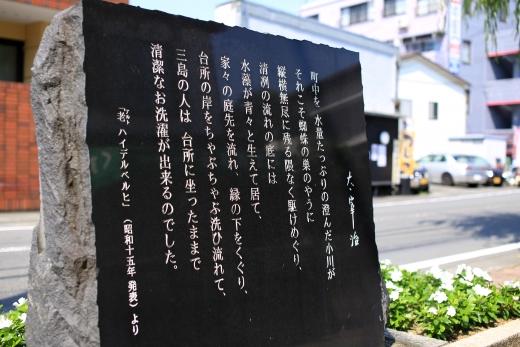 三島 水辺の文学碑 03