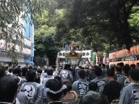 御田八幡神社神輿渡御