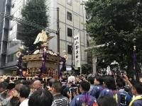 西久保八幡神社大神輿渡御