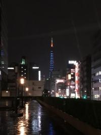 SAMURAI BLUEライトアップ