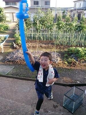 夏祭り息子1