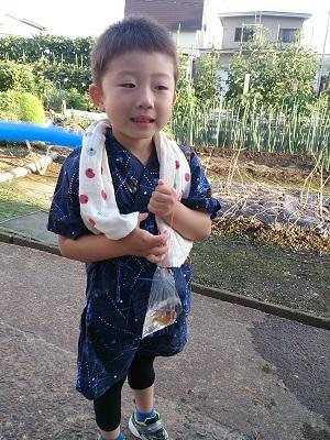 夏祭り息子2
