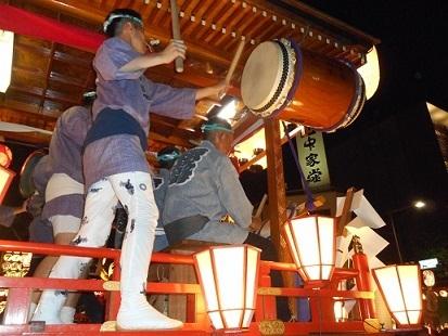 1-6 0150723 熊谷うちわ祭 叩き合い