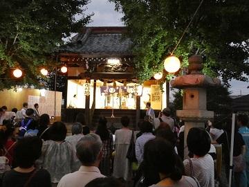 2017年9月14日 八幡神社 巫女の舞