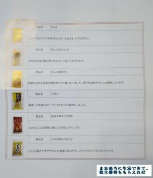ポプラ 珍味詰め合わせ03 201702