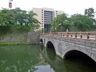 福井城_御本城橋