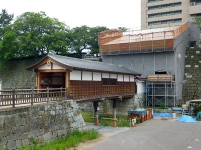 福井城_御廊下橋