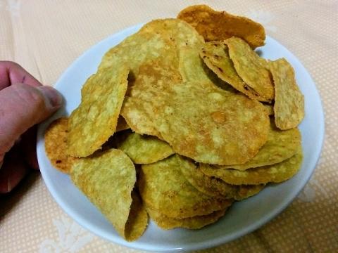 タイ製アボカドチップス トマトサルサ味2
