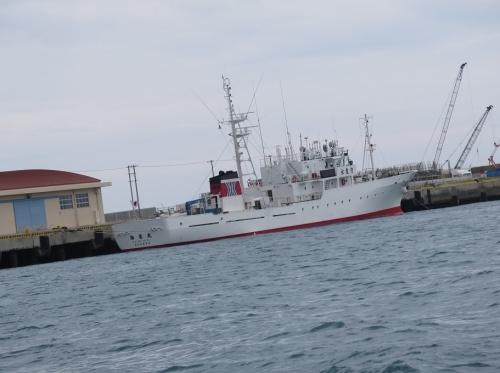 石垣島 水産庁船