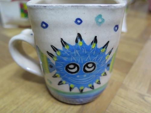 南島焼さんで買った物 アバサーのマグカップ