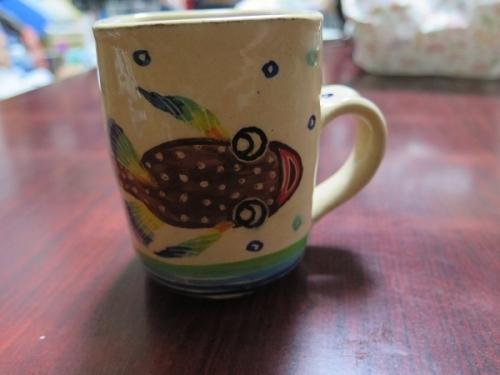 南島焼さんで買った物 マグカップ