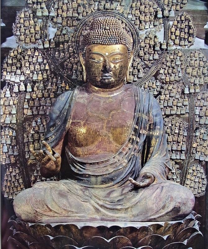 唐招提寺金堂・廬舎那仏像