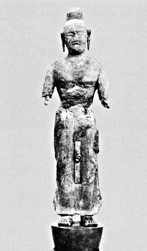 唐招提寺・木心乾漆菩薩像