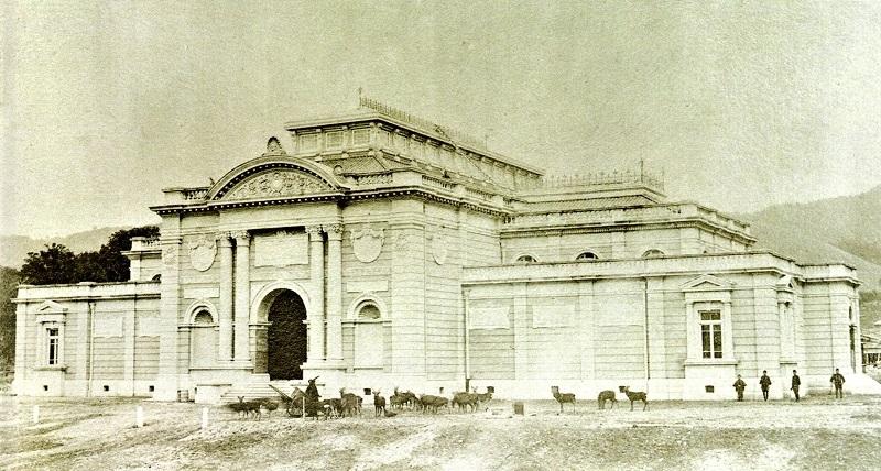 明治28年開設時の奈良帝国博物館