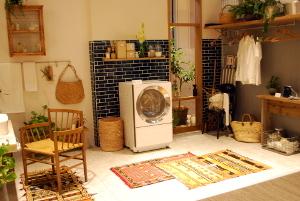 洗濯機中心のお部屋